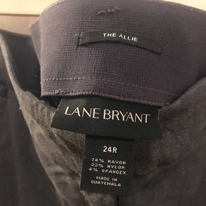 "Lane Bryant Pants - LANE BRYANT ""THE ALLIE"" TROUSERS SIZE 24"